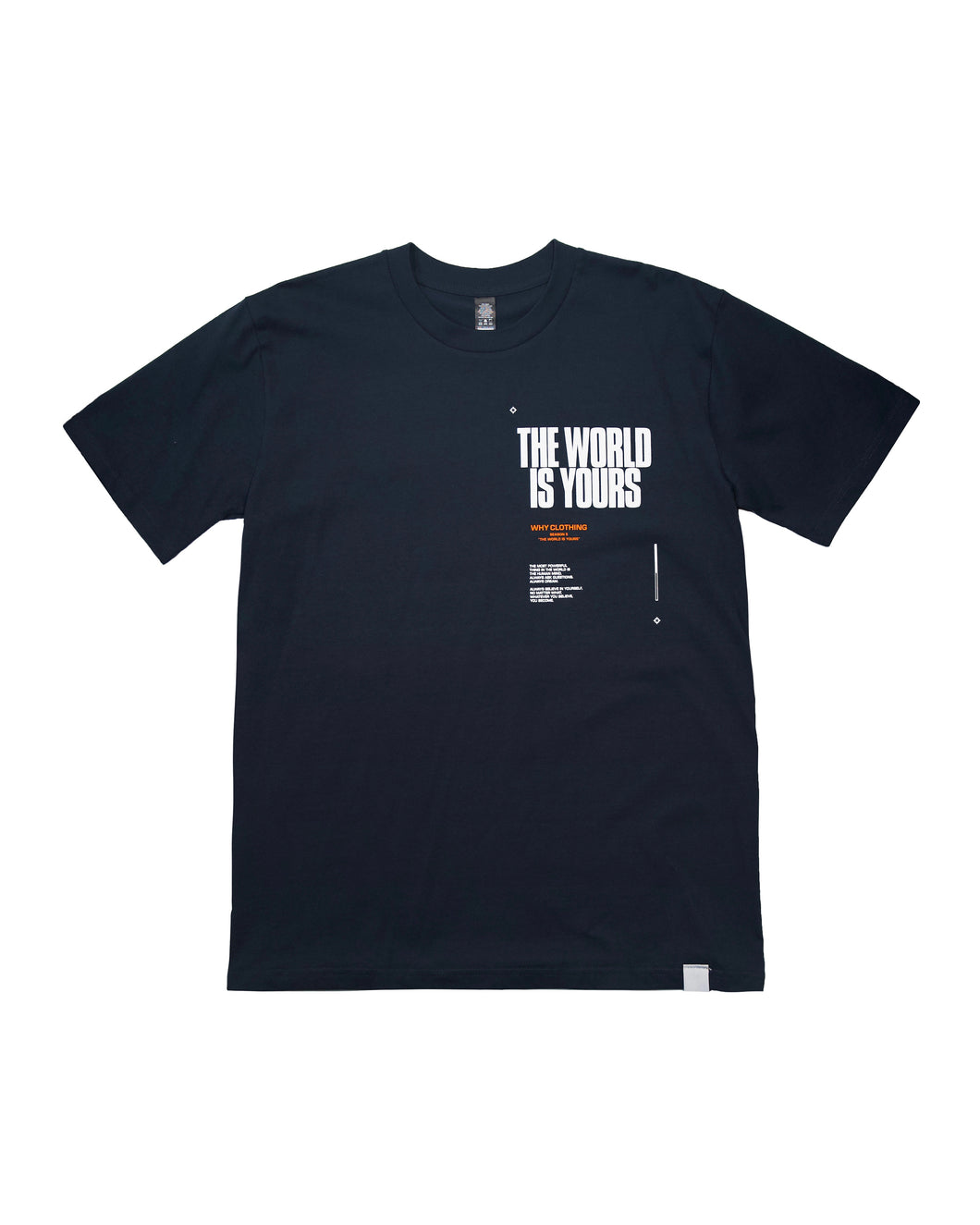 The World Is Yours T-Shirt (Sapphire)