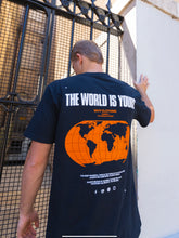 Load image into Gallery viewer, The World Is Yours T-Shirt (Sapphire)