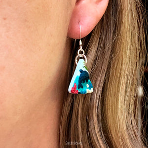 Triangle Doplhin Earrings