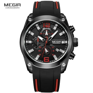 Megir Men's Chronograph Wristwatch
