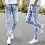 Denim Skinny Distressed Men Jeans