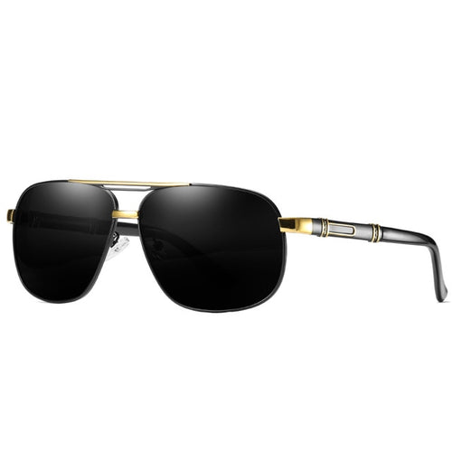 Polarized Brand Designer Black Sun Glasses
