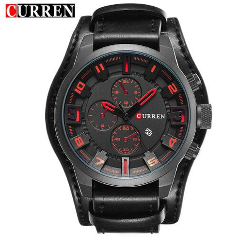 Curren Watches men Quartz Wristwatch 8225