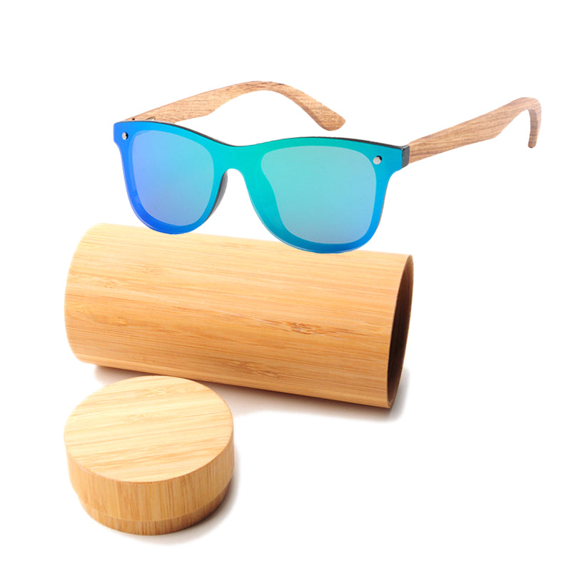 Retro Wooden Men Bamboo Sunglass