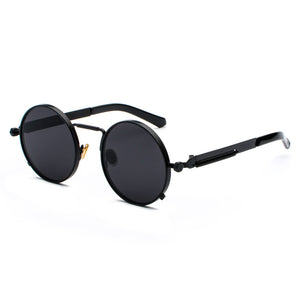 Sunglasses Men Steampunk Metal Frame