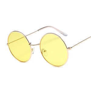 Retro Round Sunglasses For Women