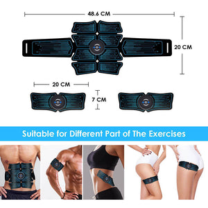Abdominal Muscle Stimulator Home Gym | Abs Stimulator Toner