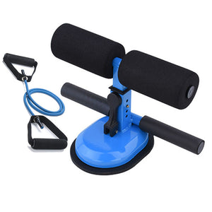 Sit Up Bar Floor Ankle Support Trainer Workout Equipment