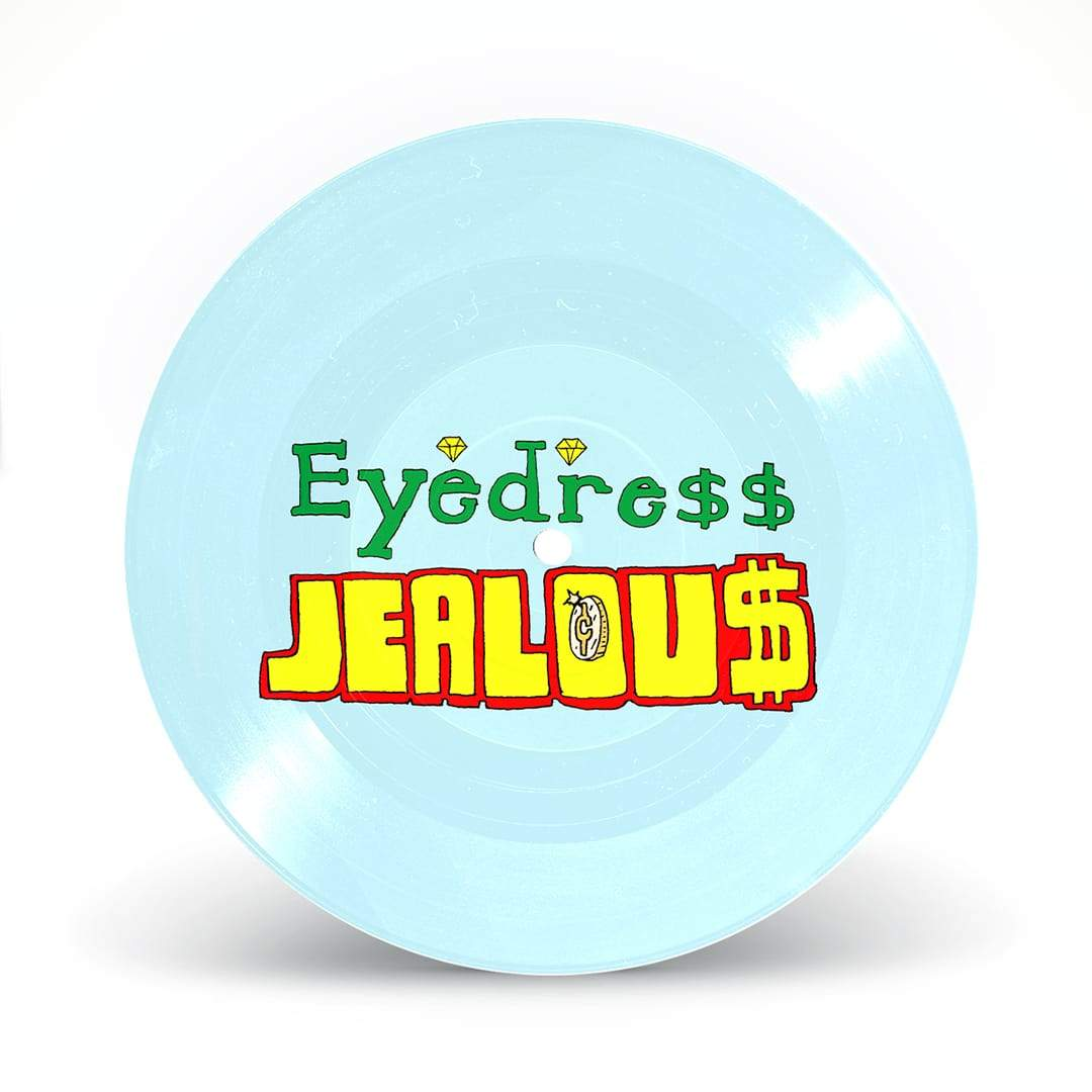 "Jealous 7"" Picturedisc - Eyedress TV"
