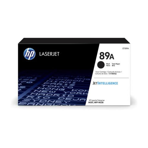 HP 89A (CF289A) Black LaserJet Toner Cartridge (5000 Yield)