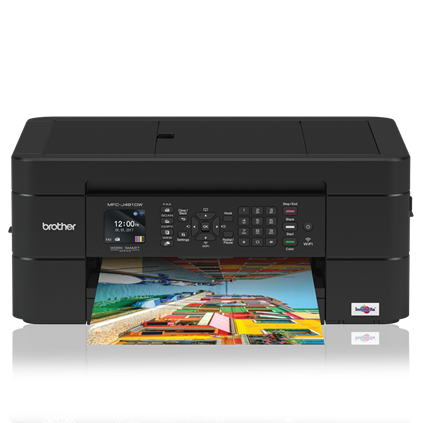 Brother MFC-J491DW Color Inkjet MFP