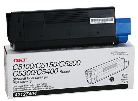 OKI Data OKI High Yield Black Toner Cartridge (5000 Yield)