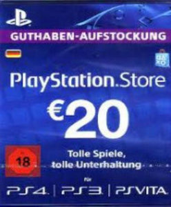 Playstation Network Card (PSN) u200eu20ac25 (German)