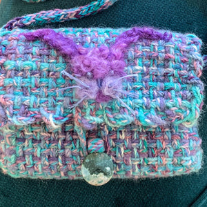 Handwoven Bunny Pouch