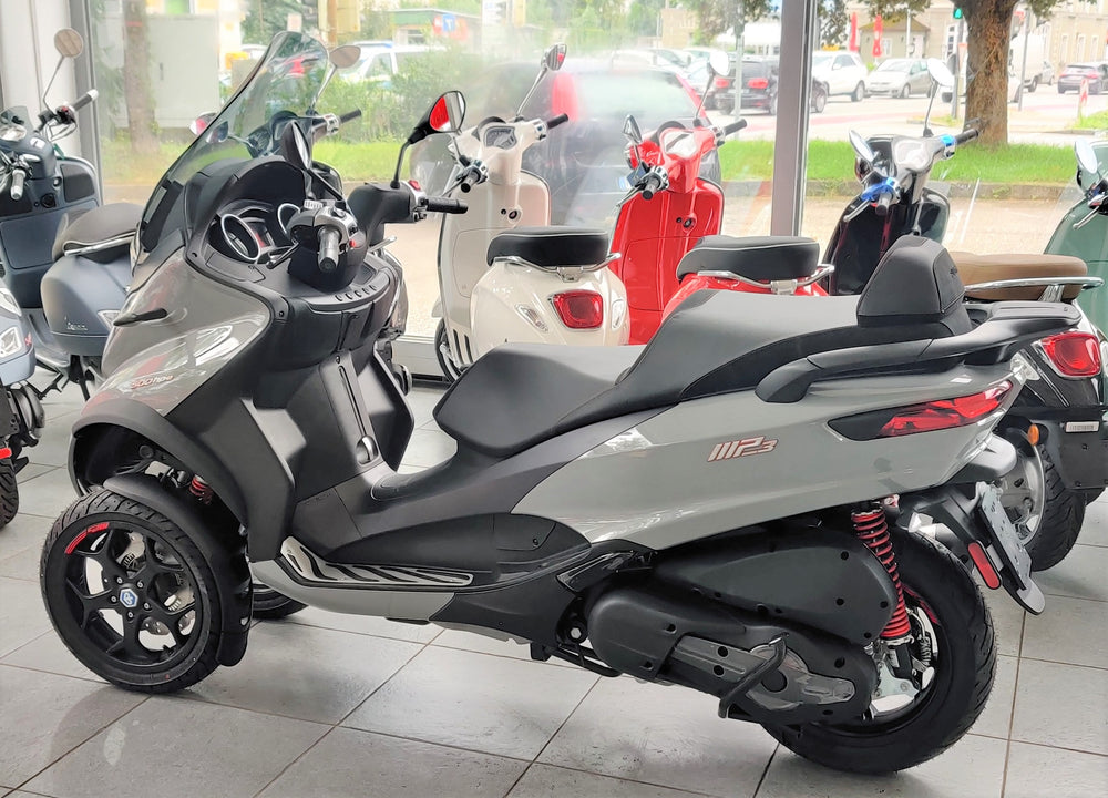 Piaggio MP3 500 Business hpe ABS ASR Silver