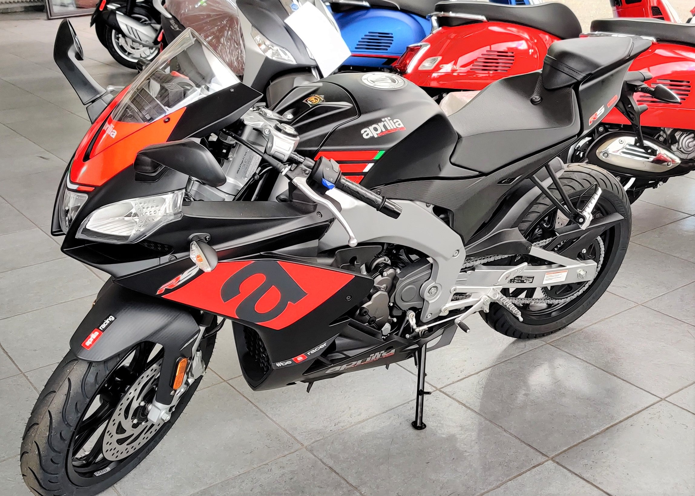 Aprilia RS 125 ABS Black Speed