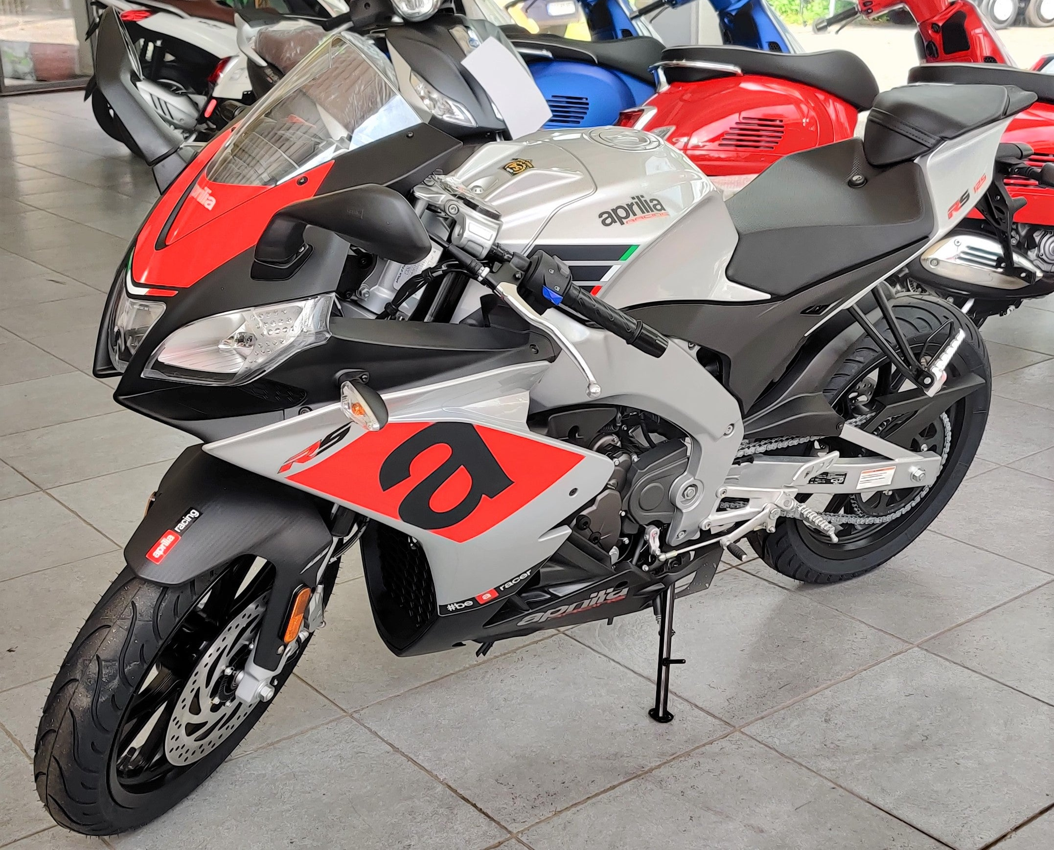 Aprilia RS 125 ABS Silver Speed