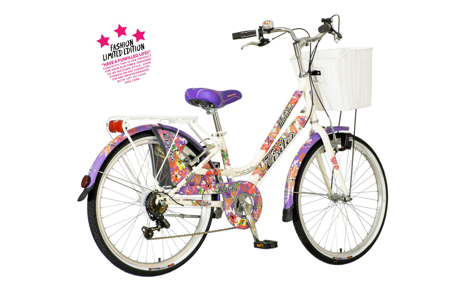 RB Visitor Malibu City Kinderfahrrad FLE 24