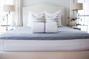 How to stop bed sheets from moving or coming off your bed without using straps, zippers, or clips. The Better Bedder will keep sheets on your bed! You put it on once and it becomes a part of your mattress. Any sheet from any store will fit perfectly on your mattress.