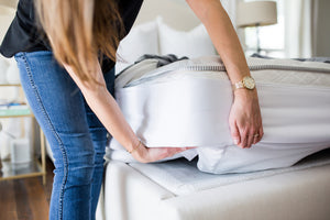 How to keep sheets on your mattress? The Better Bedder is the answer. This helps keeps sheets on adjustable beds, helps keep sheets on tempurpedic mattresses, and more. It is the latest and best solution for keeping your fitted sheets on your mattress! Put the Better Bedder on once, and thats it! No more lifting the heavy mattress