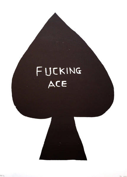 David Shrigley      Format 42 x 58, Oplag 30Fucking Ace