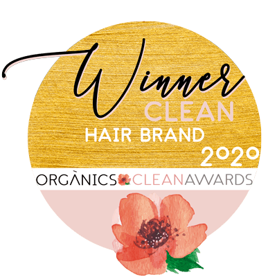 mejor marca capilar premio organics clean awards