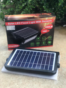 Lámpara Flood Light Led Solar 10W - DXACORP S.R.L.
