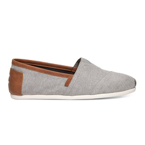 Alpargata - Frost Grey Chambray