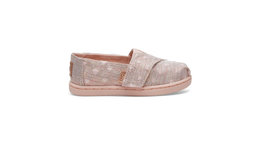Alpargata Espadrille Tiny - Rose Gold Twill