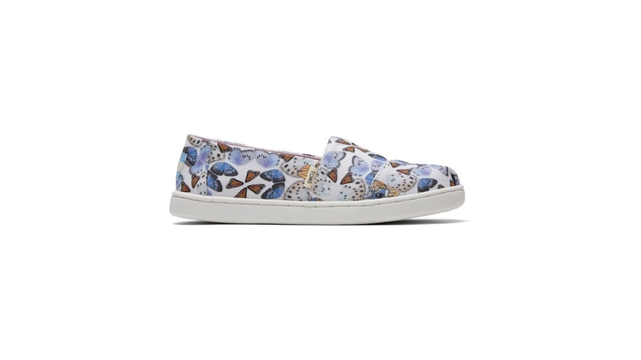 Alpargata Espadrille Youth - Multi Radiant Butterfly Print