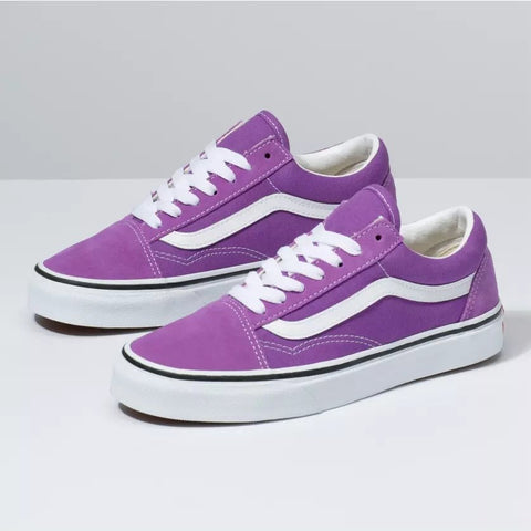 Old Skool - Dewberry/True White