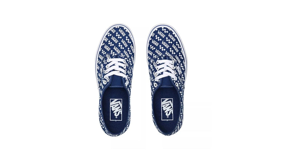 Authentic Logo Repeat Men's - True Blue/True White
