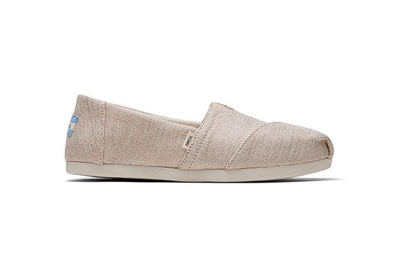 Alpargata 3.0 Women's - Natural Metallic Woven