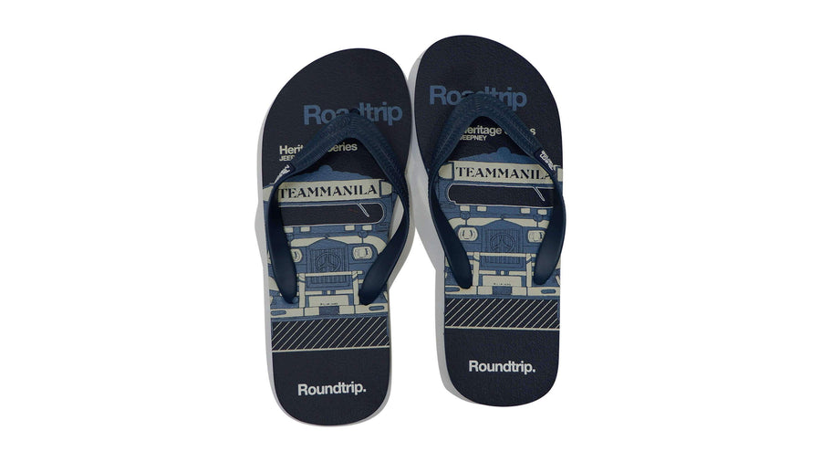 Roadtrip Flip-flops - Navy Blue