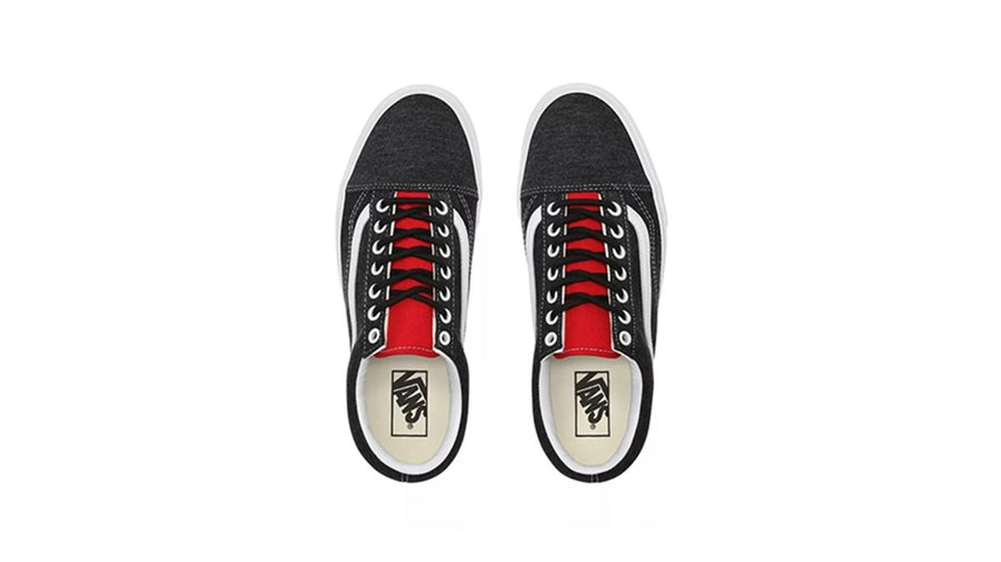 Old Skool Men's (Vans Coastal) - Black/True white