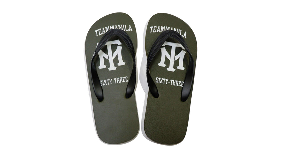 Team Manila 63 Flip-flops - Light Gray