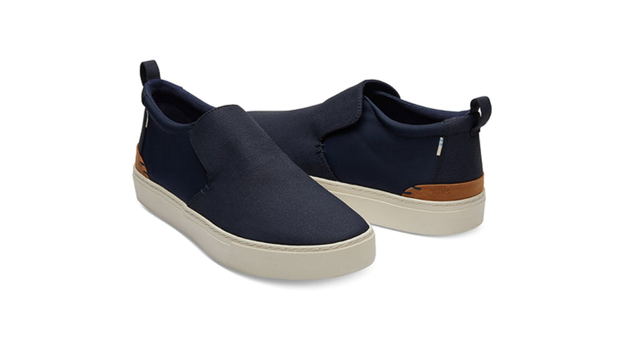 TOMS Paxton Boots - Navy Textured