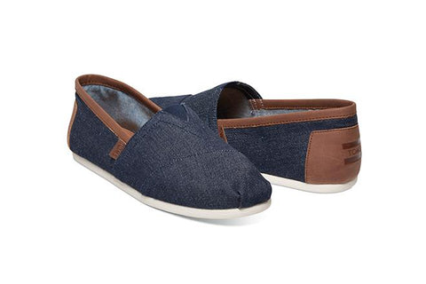 Alpargata Men's - Dark Denim Trim