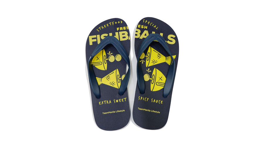 Fishball Special Flip-flops - Navy Blue