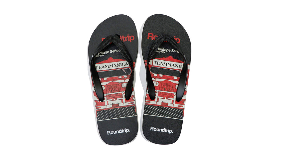 Roadtrip Flip-flops - Black