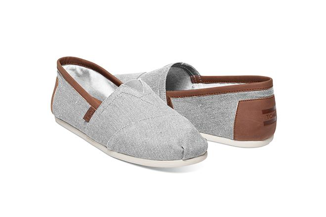 Alpargata Men's - Frost Grey Chambray
