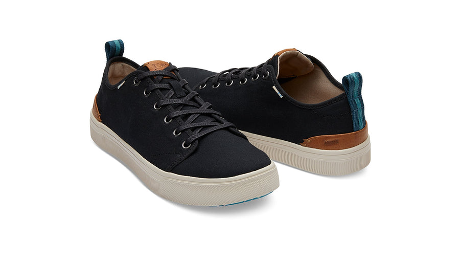 TRVL Lite Low Sneakers Men's - Black Canvas