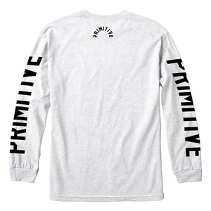 Block L/S Tee - Ice Heather