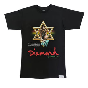 Star Of David Tee - Black