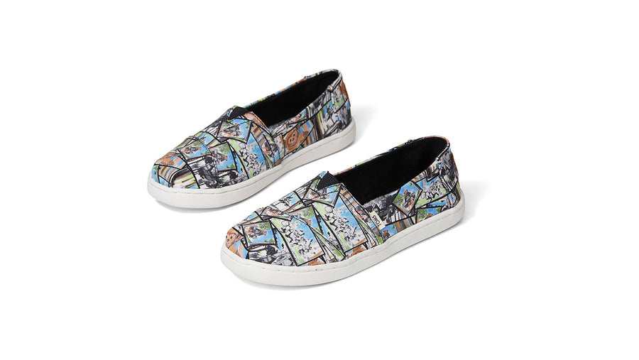 Star Wars x TOMS Alpargata Youth - Multi Ewok Print