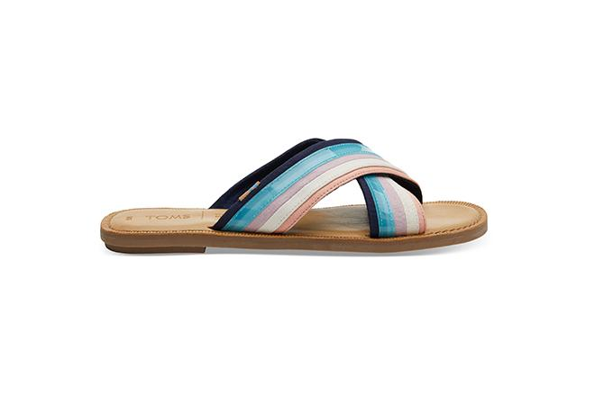 Viv Sandals - Navy Multi