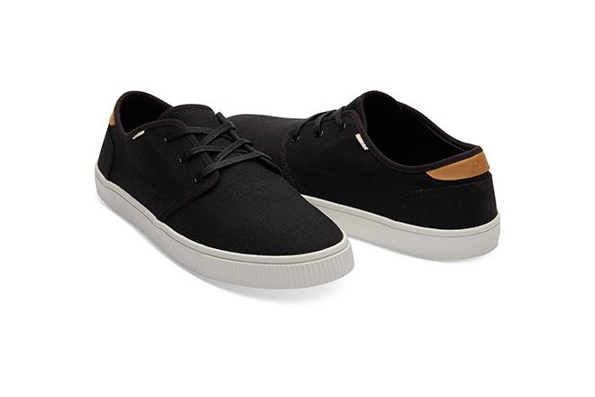 Carlo Sneakers - Black Heritage Canvas
