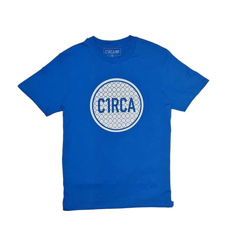 Wired Din Tee - Royal Blue