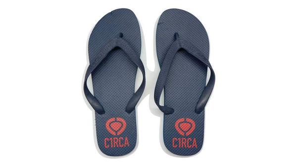 C1rca Flipflops - Navy Red