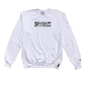 Sole Slam x Champion Crew Neck - White